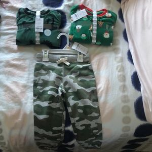 Carter's boys pajamas and pants
